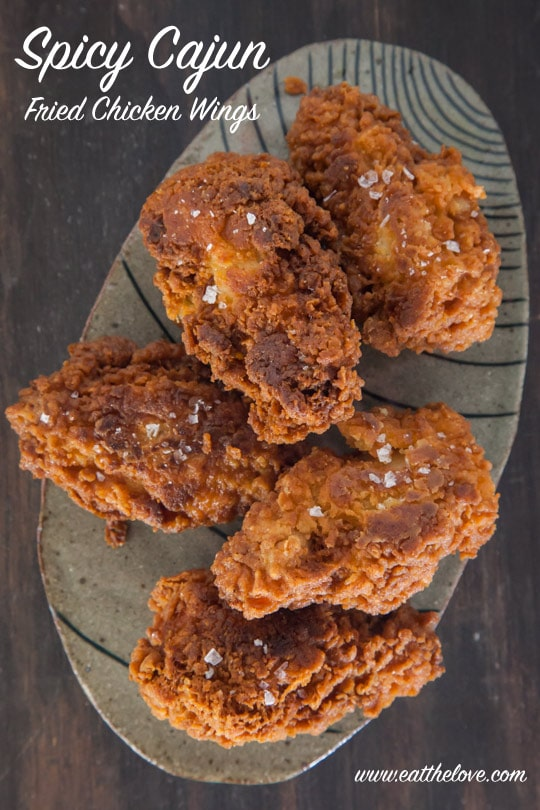 Spicy Cajun Fried Chicken Wings [Sponsored Post] - blogs de Recipes