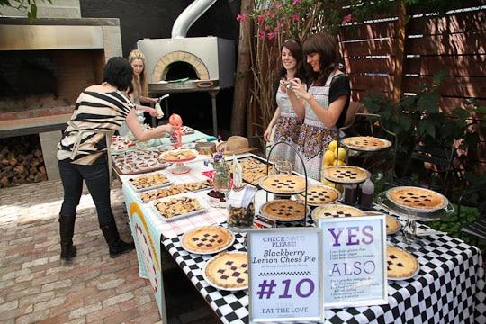 Lemon Blackberry Chess Pie by Irvin Lin of Eat the Love. www.eatthelove.com