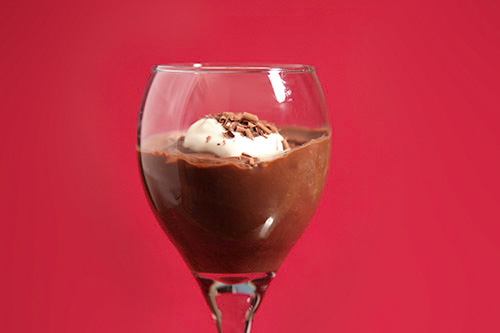 Deep Dark Chocolate Pudding