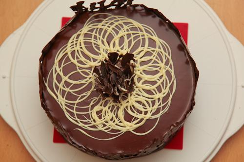 Triple Chocolate Bavarois