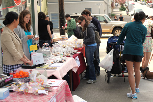 Last year's SF Food Blogger Bake Sale