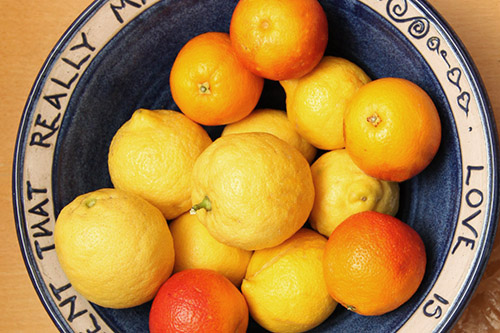 sassy citrus fruit
