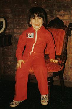 AJ in his Pepsi Suit
