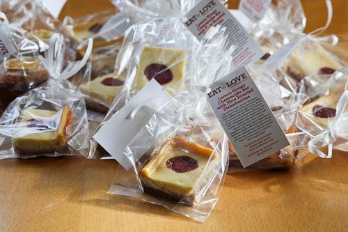 Lemon Honey Strawberry Cheesecake