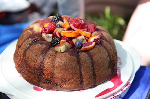 The Sangria Cake