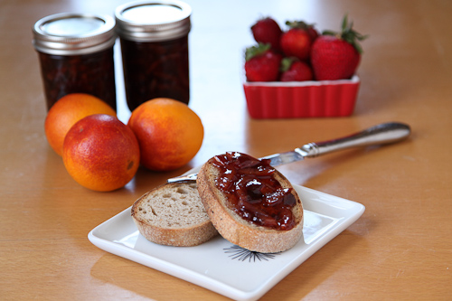 Blood Orange Strawberry Marmalade