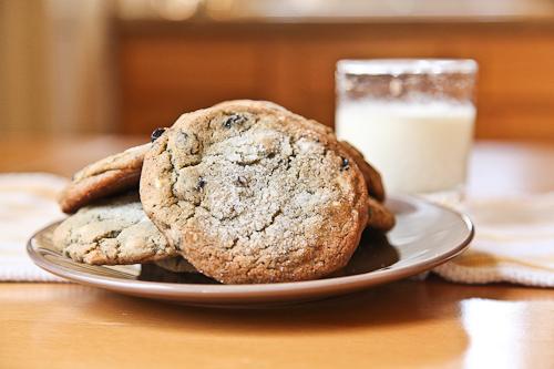 Blueberry White Chocolate Chip Jumbo Cookie jpg