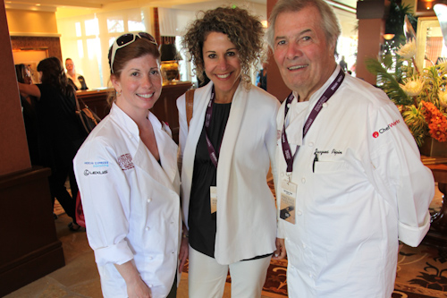 Claudine Pépin, Laura Werlin, Jacques Pépin