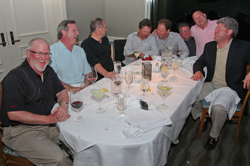 The group of guys who ruined Sabrina and my romantic dinner out. jpg
