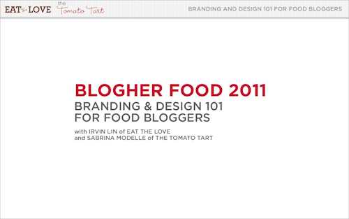 Branding and Design 101 for Food Bloggers