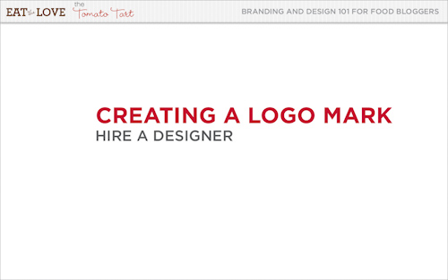 Creating a Logo Mark