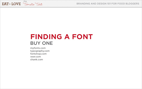 Buying a font