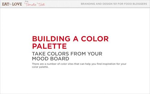 Build a Color Palette