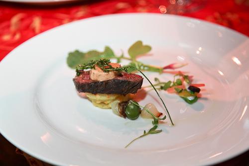 hanger steak from Yoshi's. jpg