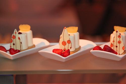 Taste Catering presents Pucci on the Street: Lime Bavarian yuzu gelee and strawberries. jpg