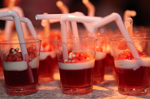 Strawberry Pernod Shots by Navio, Ritz Carlton Half Moon Bay jpg