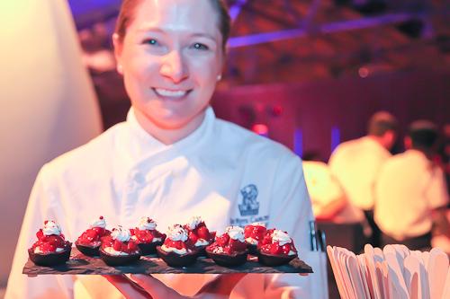 Cherry chocolate tarts from the Ritz Carlton San Francisco. jpg