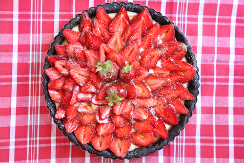 Strawberry Chocolate Tart with Lemon Caramel and The Meals ...
