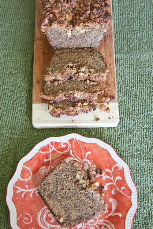 Caramelized Banana Bread with Rum