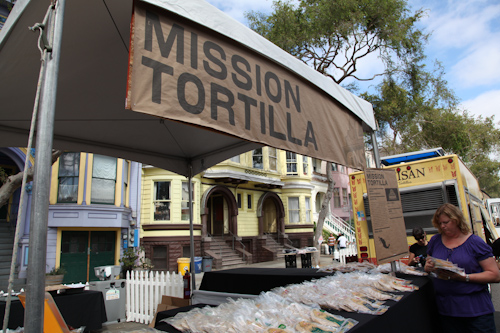 Mission Tortilla was handing out awesome tortila samples to the masses. jpg