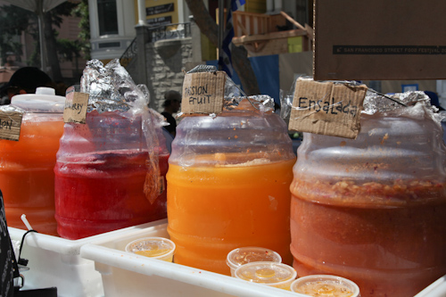 Selection of Agua Frescas from Estrellita's Snacks. jpg