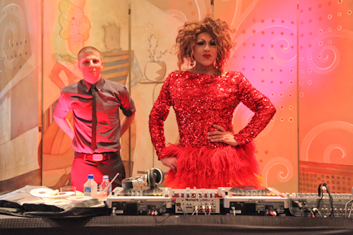DJs for the Sugar and Spice Party, part of the SF Chefs 2011 event jpg