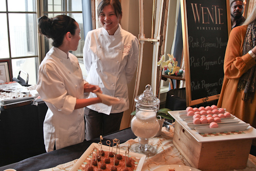 Pink Peppercorn was the featured spice that Wente Vineyard used.