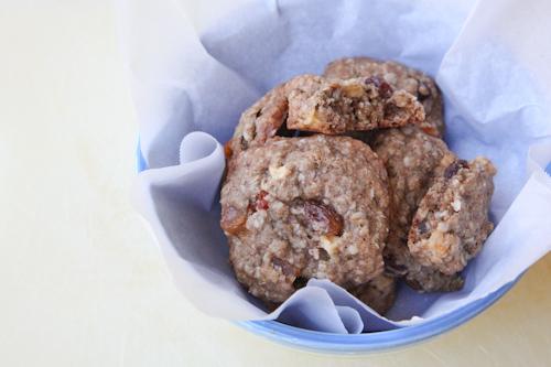 Rum Soaked Tropical Fruit Oatmeal Cookies jpg