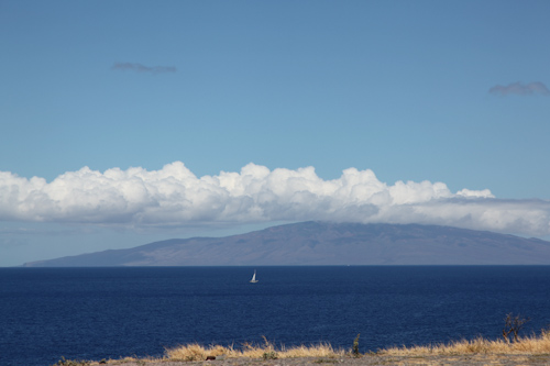 The island of Molokai off in the distance. jpg