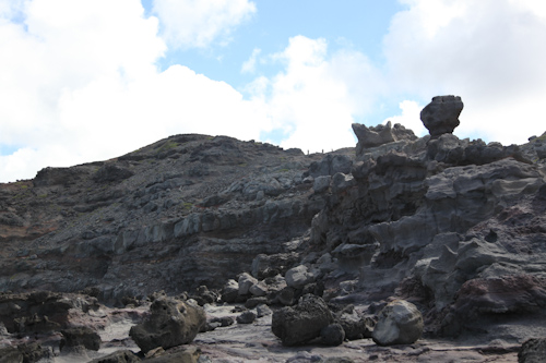The hike down to the Nakalele Blowhole in West Maui. jpg