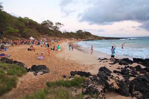 Little Beach in Maui jpg