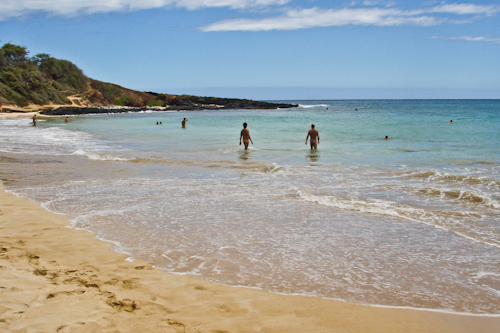 Little Beach in Maui. Clothing Optional, full of hippies, gays and the occasional white supremist. jpg