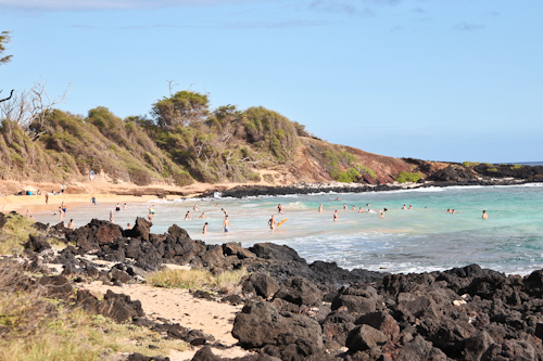 Little Beach in Maui.