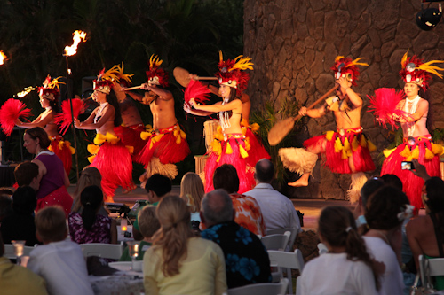 The history of Hawaii being told in song and dance. jpg