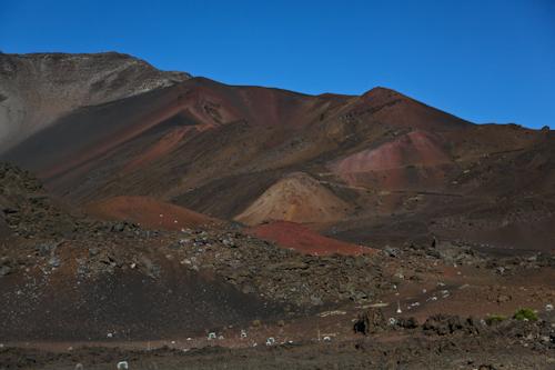 The hike down in the national park of Mt. Haleakala. jpg