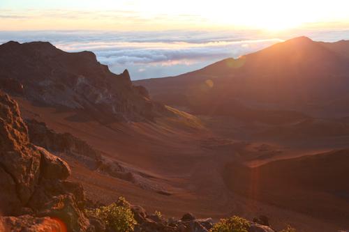 The sun rise is spectacular at Mt. Haleakala. jpg