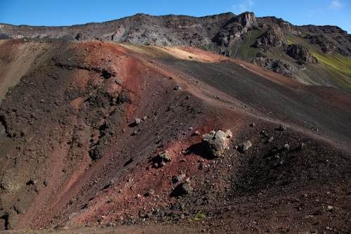 The different colors in the cinder cone are gorgeous. jpg