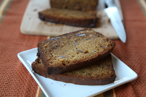 White Chocolate Ginger Papaya Bread. jpg