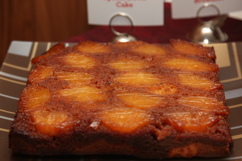 Not your typical pineapple upside down cake. This one uses fresh pineapples. jpg