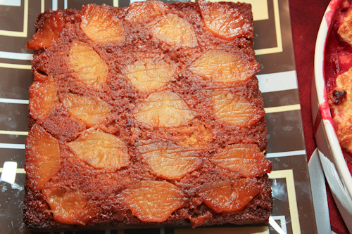 Pineapple Upside Down Cake made from fresh pineapples. jpg