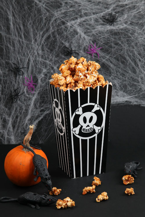 Either way, enjoy the Haunted Honey Caramel Popcorn! Happy Halloween!