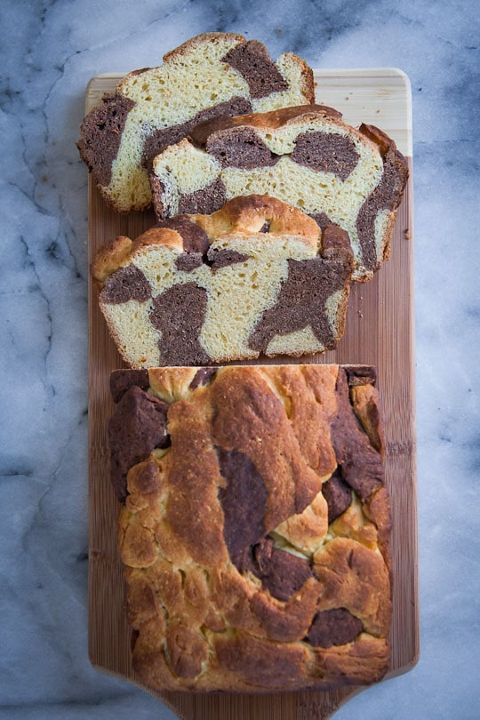 Marble Bread by Irvin Lin of Eat the Love | www.eatthelove.com