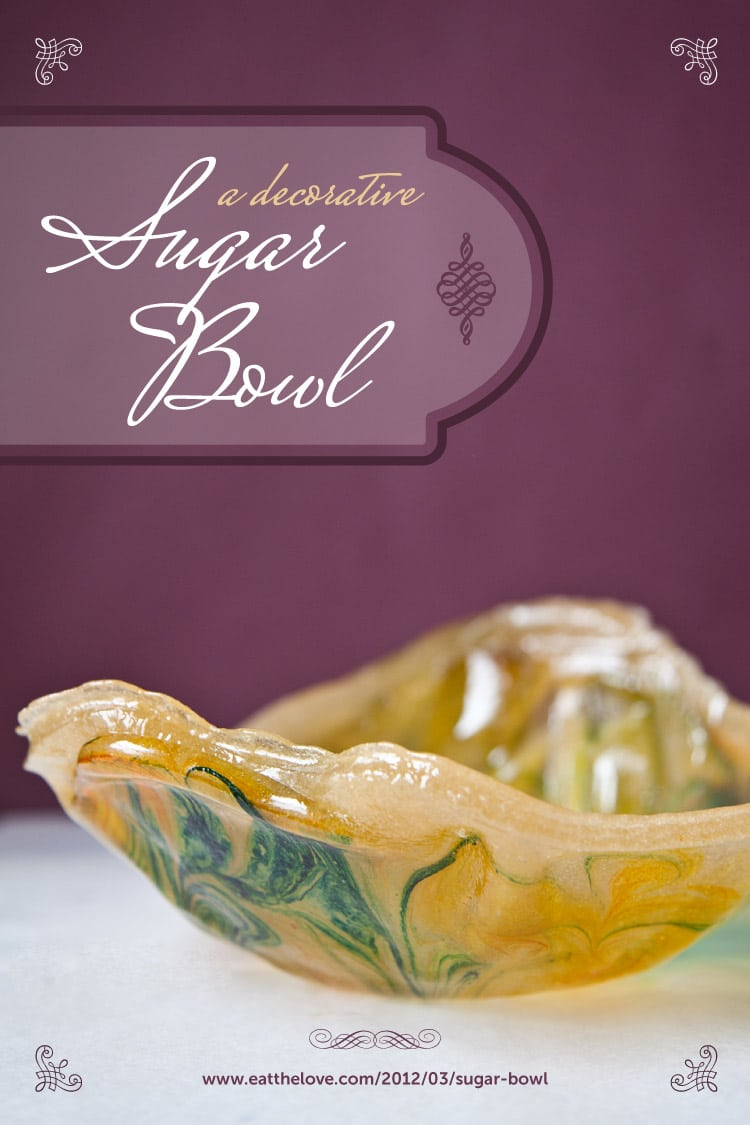 A Decorative Sugar Bowl and my two year blog-o-versary