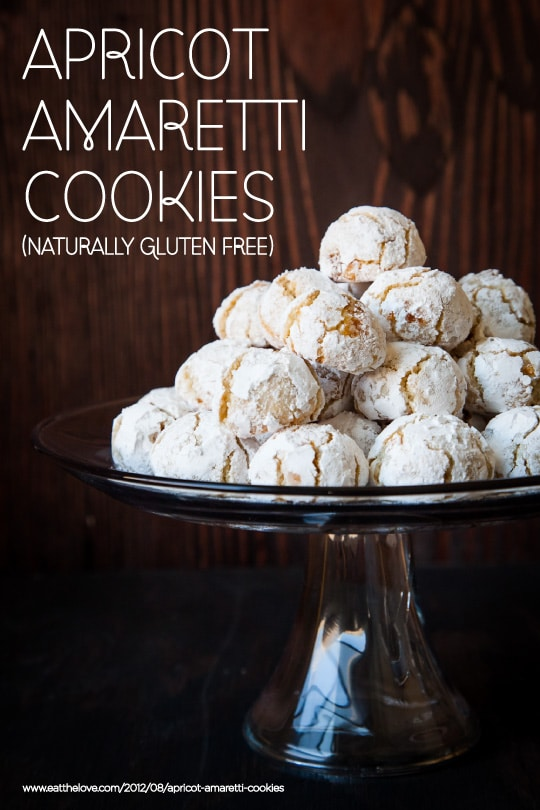 Apricot Amaretti Cookies (naturally gluten free) by Irvin Lin of Eat the Love