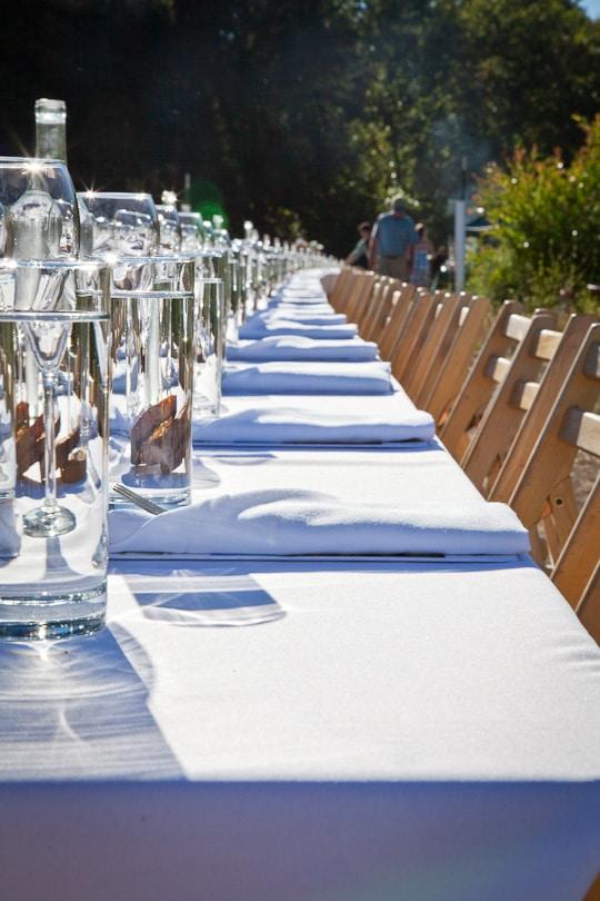 Outstanding In The Field signature table, Baia Nicchia in Sunol, California, 2012