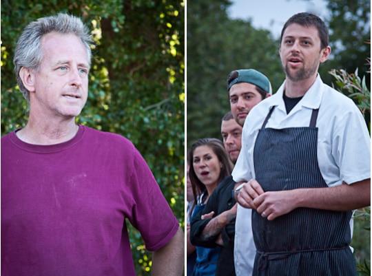 Outstanding In The Field, Baia Nicchia in Sunol, California 2012