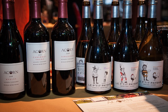 Acorn and Le P'Tit Paysan Wine at the Sunday SF Chefs Grand Tasting Tent, 2012 by Irvin Lin of Eat The Love