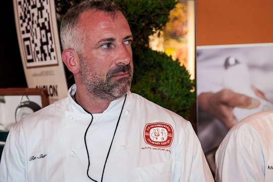 Chef Tim Shaw at the Sunday SF Chefs Grand Tasting Tent, 2012 by Irvin Lin of Eat The Love