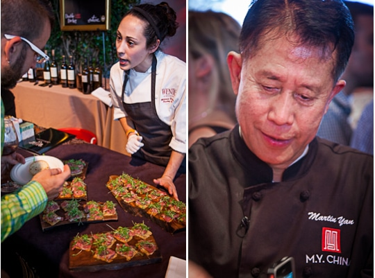 Martin Yan at the Sunday SF Chefs Grand Tasting Tent, 2012 by Irvin Lin of Eat The Love