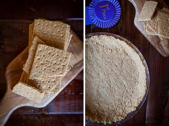 Teaming up with Attune Foods for a Graham Cracker Crust Pie Contest, photo by Irvin Lin of Eat the Love